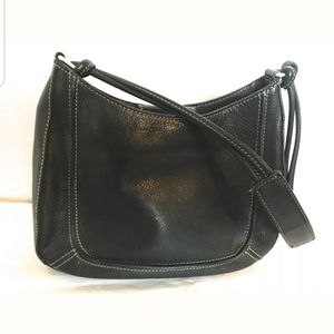 Fossil shoulder bag with contrast stitching